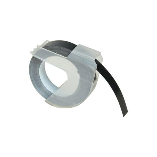 """Label Tapes Dymo 3D Plastic Embossing for 3/8"""" 9MM"""