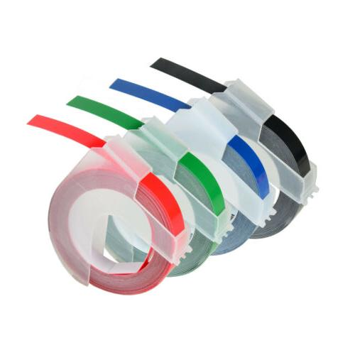 label tapes replacement for dymo 3d plastic