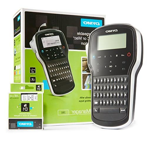 labelmanager 280 rechargeable hand held