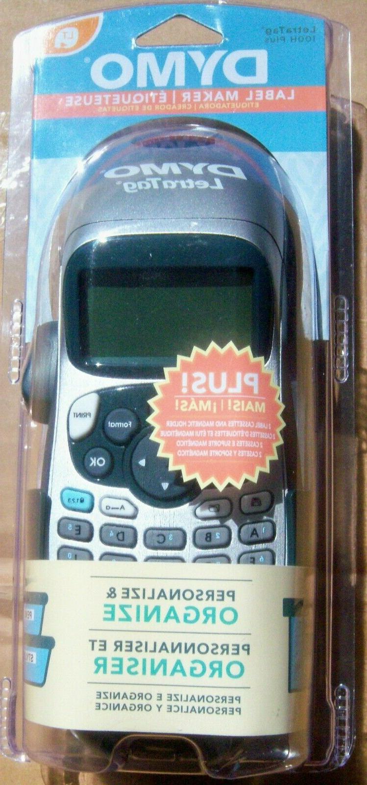 letratag handheld portable electroniclabel maker machine lt
