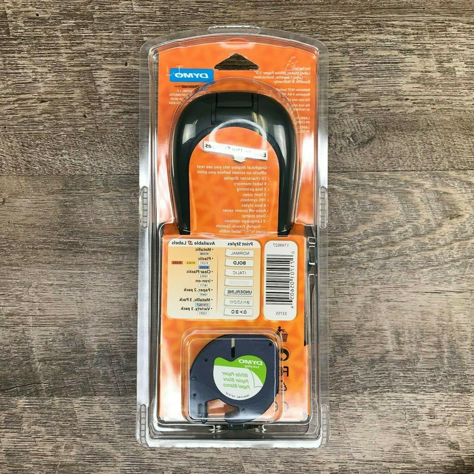 DYMO LetraTag Handheld Label LT-100H Office NEW