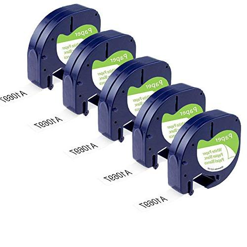 letratag refills replace labeling tapes