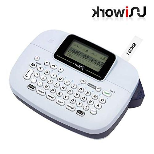Uniwork MK231 Compatible P Touch For Brother M-K231 M-231 M-K231S M231 MK-231