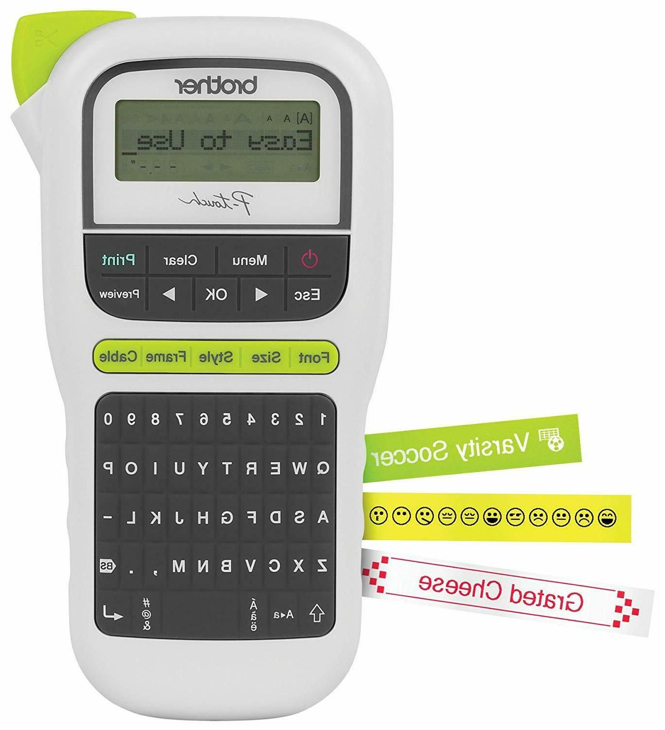 p touch pth110 easy portable label maker