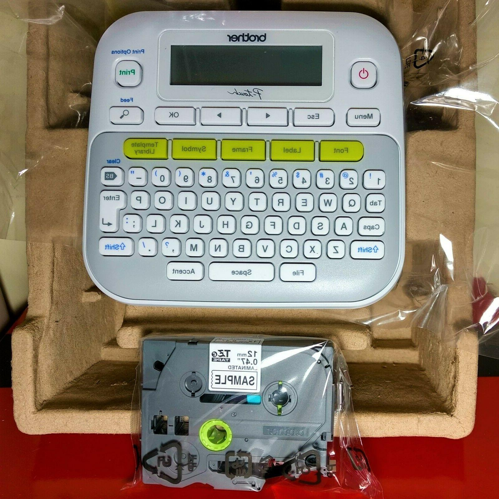 new ptd210 p touch easy compact label