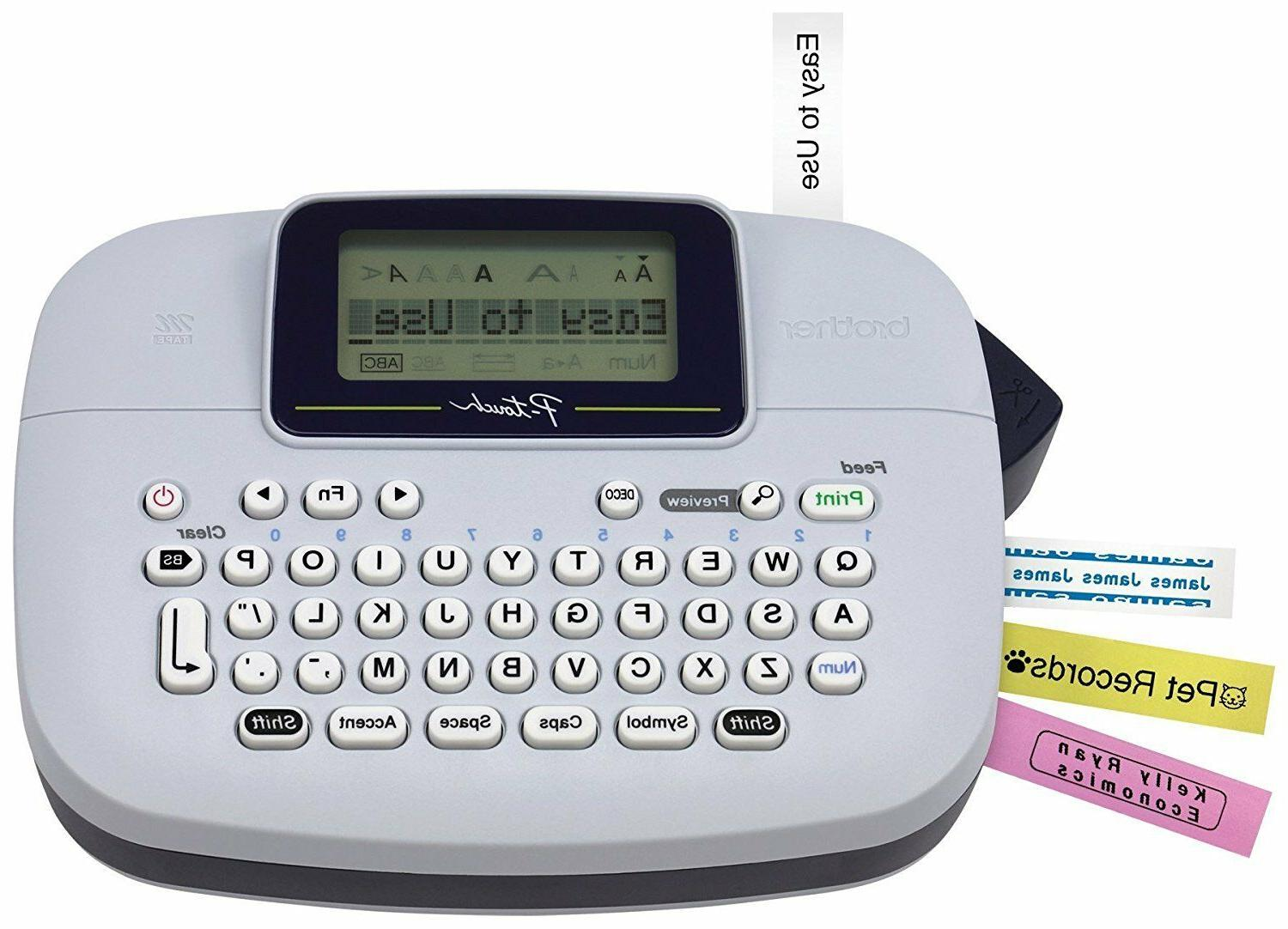 new ptm95 p touch handy label maker