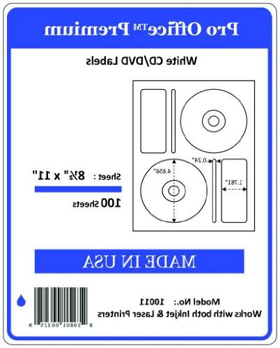 office 200 cd dvd labels