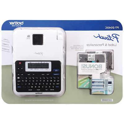 p touch 2040c label maker lcd display