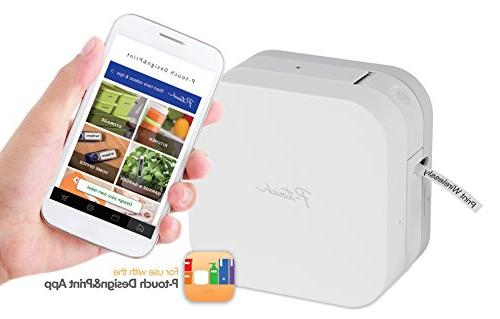 P-touch CUBE Label Maker Wireless