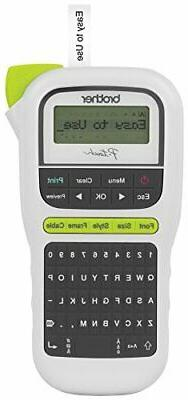 pth110 easy portable label maker lightweight qwerty