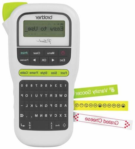 p touch portable label maker lightweight qwerty
