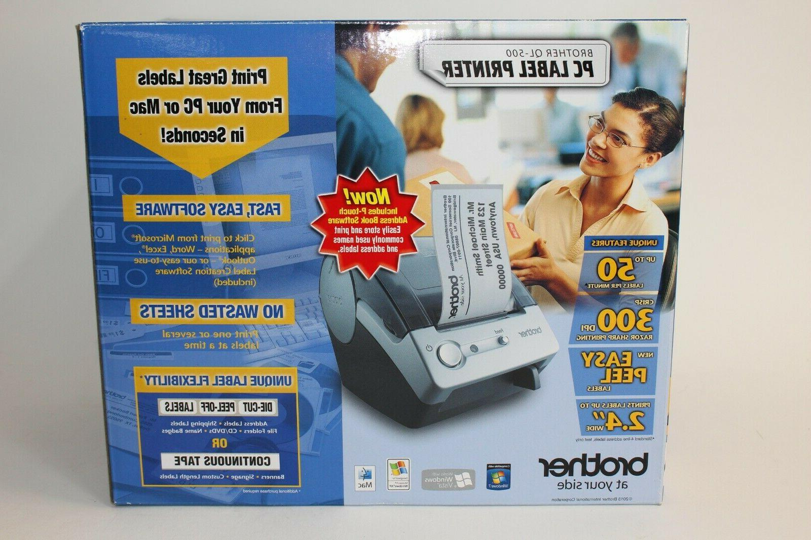 ql 500 p touch thermal label printer