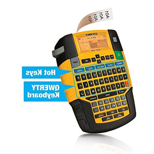 DYMO Label Maker Carry Kit with Roll of 1/2 All-Purpose Black White