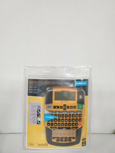 rhino 4200 industrial label maker printer all