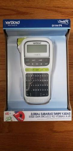 Sealed New in Box Brother P-Touch PT-H110 Label Maker Therma