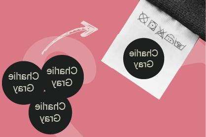 Snappy Tags Label for Clothes