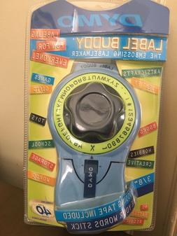 """DYMO Label Buddy Embossing Label Maker With 3/8"""" Label Roll"""