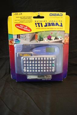 Casio Label It Model KL-60L Label Maker
