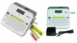 Label Makers P-touch AC Adapter QWERTY Keyboard Multiple Lin