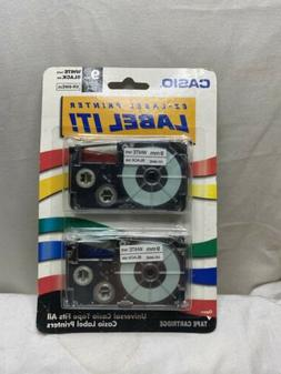 Casio Label Printer Tape For Cwl-300 2pk