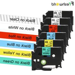 2pk Label Tape Compatible for Brother TZe-131 TZ131 P-Touch