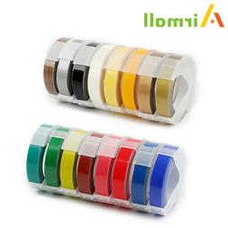 Label Tapes Replacement for Dymo 3D Plastic Embossing Tape f