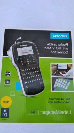 DYMO LabelManager 280 Rechargeable Hand-Held Label Maker. PC