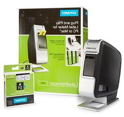 DYMO LabelManager Plug N Play Label Maker with 1 extra roll