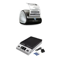 DYMO LabelWriter 4XL Label Maker and Accuteck All-In-One Ser