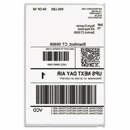 Dymo LabelWriter Shipping Labels, 4 x 6, White, 200/Roll