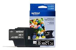 Brother LC75BK Ink Cartridge, 600 Page Yield, Black