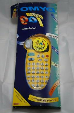 Dymo LetraTag XR 91306 Label Maker Yellow with Smiley Tape