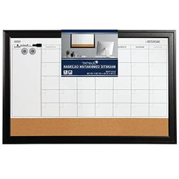 Quartet Magnetic Combination Calendar Board, Dry Erase & Cor