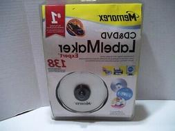 Memorex CD and DVD Label Maker Expert 138 Labels - New - Sea