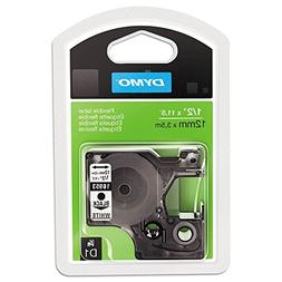 Dymo MobileLabeler D1 Flexible Nylon Label Maker Tape, 1/2in