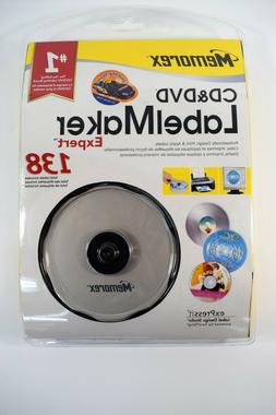 New Memorex CD & DVD Label Maker Expert 138 Edition