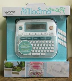 NEW!! Brother P-touch Embellish Ribbon/Tape Label Printer PT