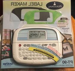 new personal electronic label maker thermal printer