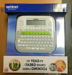 New Brother PT-D210 P-Touch Easy Compact Label Maker - White