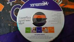 NOOP MEMOREX EXPRESSIT CD LABEL DESIGN STUDIO KIT FOR LABELM