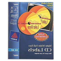 BUY NOW DIRECT -Avery Full-Face CD Labels-PT# BND- USAVE8960