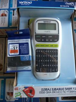 Brother P-touch, PTH110, Easy Portable Label Maker, Lightwei