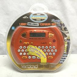 Brother P-Touch Personal Electronic Labeler Label Maker Hand
