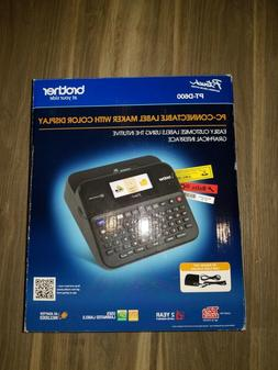 Brother P-touch PTD600 PC Connectible Label Maker with Color