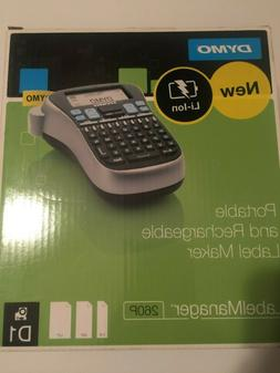 portable and rechargable label maker labelmanager 260p