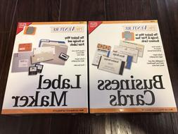 ProVenture Label Maker And Business Cards New Factory Sealed