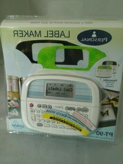 BROTHER PT-90 Electronic Label Maker Personal Touch NEW