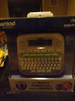 Brother PT-D210 Compact Label Maker--Brand New
