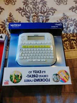Brother PTD210 P-Touch Easy Compact Label Maker - White