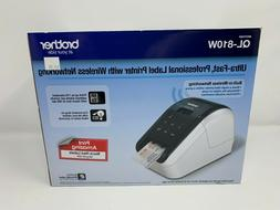 Brother QL-810W Ultra-Fast Label Printer with Wireless Netwo